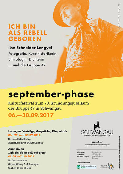 "Plakat ""september-phase 2017"""