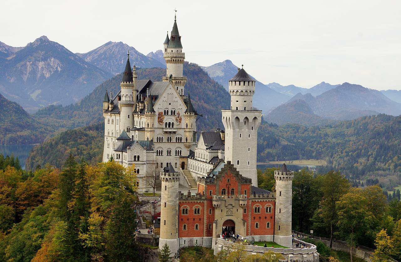 Image result for Schloss Neuschwanstein