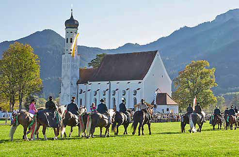 Colomansfest mit Colomanstag am 13. Oktober 2019 in Schwangau