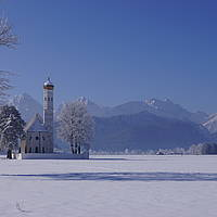 St  Coloman im Winter 2